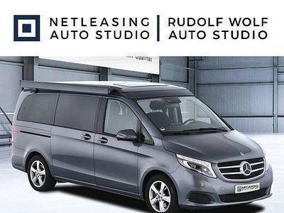 gebraucht Mercedes V220 V-Klassed Lang Marco Polo Horizon Ed ILS+Sportp+Kam Autom./LED, 163 PS, 4 Türen, Automatik