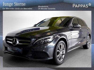 gebraucht Mercedes C250 C-KlasseT BlueTEC 4MATIC Avantgarde A-Edition Plu... Kombi / Family Van,