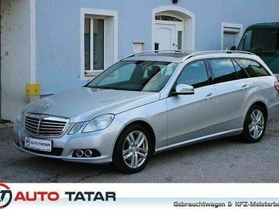 gebraucht Mercedes E220 E-KlasseElegance CDI Aut.|193,- mtl. | Schiebedach | Navi Comand |