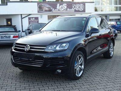 gebraucht VW Touareg V6 TDI BMT 4Motion Aut. Luft, Keyless, AHK, StHz, Dynaudio, Vollausstattung SUV / Geländewagen