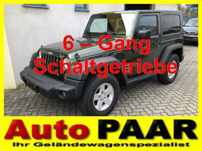 gebraucht Jeep Wrangler Sport Plus 2,8 CRD Hardtop *** erst 83.000 km !!!