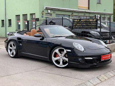 """gebraucht Porsche 911 Carrera 4 Cabriolet Cabrio**TURBO-OPTIK**20""""-TECHART**SCHALTER**SEHR-SELTEN**ALLES-EINGETRAGEN** / Roadster,"""