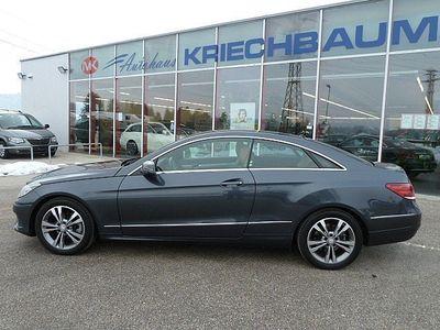gebraucht Mercedes E220 BlueTEC Aut./COUPE-PAN.-SD-LEDER-KAMERA-NAVI...