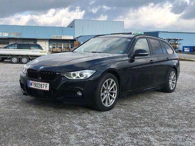 gebraucht BMW 330 3er-Reihe d M-Paket,LEDER,NAVI PRO,PANO,AUT,AHK,HUD,ACC Kombi / Family Van