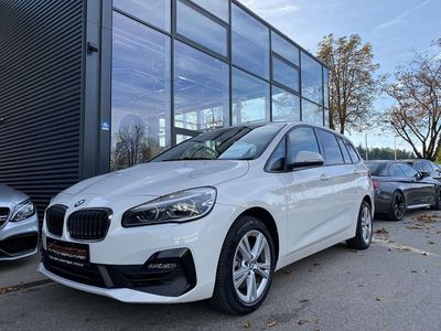 gebraucht BMW 218 Gran Tourer 2er-Reihe i Aut., 7-Sitzer, Kamera, Navi, ... Kombi / Family Van