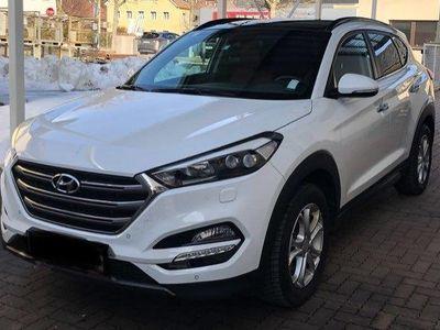 gebraucht Hyundai Tucson 1,6 T-GDI 4WD Platin
