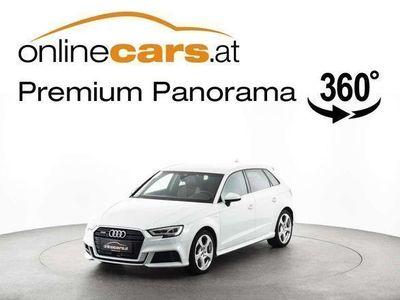 gebraucht Audi A3 Sportback 2,0 TDI quattro S-LINE ext. LED NAVI RADAR Limousine,