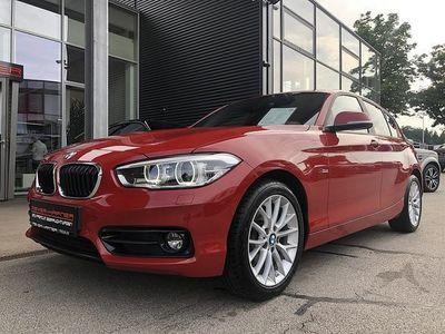 gebraucht BMW 116 d Sport Line Aut.