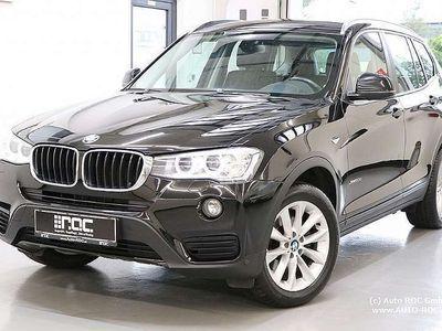 gebraucht BMW X3 xDrive 20d Xenon/Teil-Leder/AHK/PDC/Bluetooth