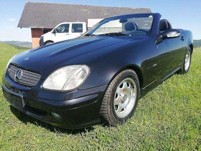 gebraucht Mercedes SLK200 SLK-KlasseKompressor- Pickerl neu gemacht!! Cabrio / Roadster