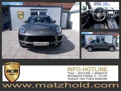 used Porsche Macan S 3,0 BiXenon Leder Navi Alu Approved Garantie TOP