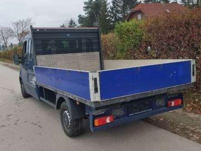 gebraucht Renault Master Doka pritsche