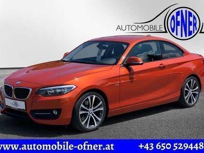 gebraucht BMW 220 d Coupé Sport Line Aut. *Harman Kardon*