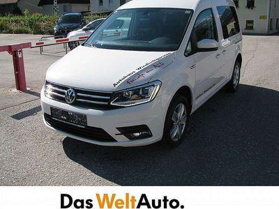 gebraucht VW Caddy CaddyComfortline TDI 4MOTION Kombi / Family Van,