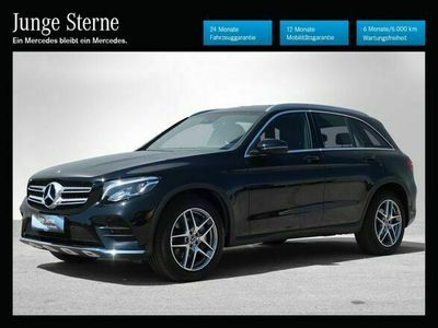 gebraucht Mercedes 220 GLC4MATIC Aut. *AMG-Line*Navi*LED*