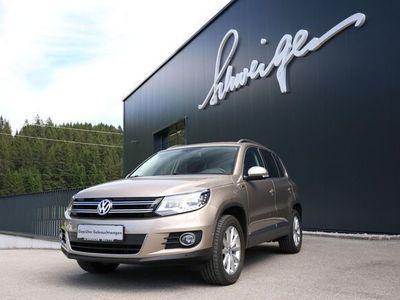 gebraucht VW Tiguan Lounge TDI BMT 4MOTION