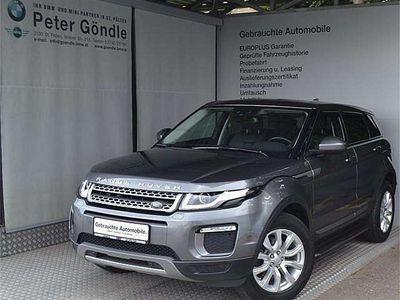 gebraucht Land Rover Range Rover evoque SE 2,0 TD4 Aut. SUV / Geländewagen,