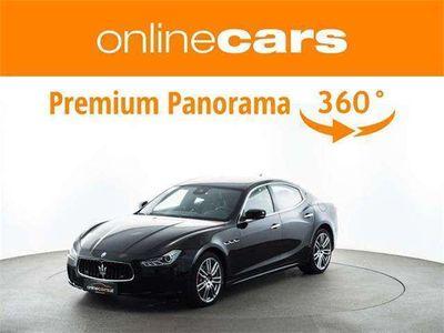 gebraucht Maserati Ghibli Diesel 20-ZOLL 360° KAMERA RADAR NAVI