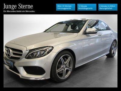 used Mercedes C200 d AMG Line Aut.