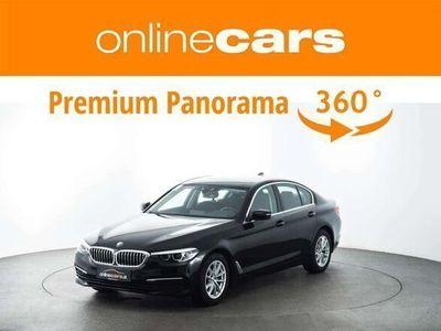 gebraucht BMW 520 5er-Reihe d Aut. LED RFK NAVI TEMP SHZ BLUETOOTH Limousine