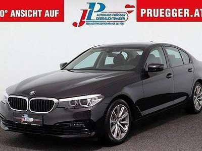 gebraucht BMW 520 d Autom SPORTLINE NAVI-PROF LED TEILLEDER 18zol