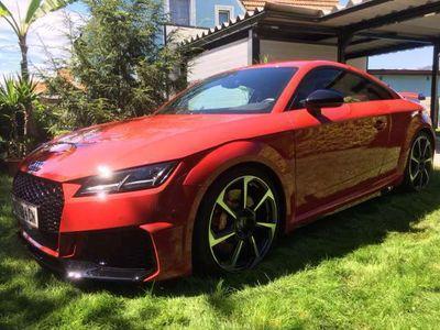 gebraucht Audi TT RS Coupé 2,5 TFSI S-tronic, tangorotmetallic