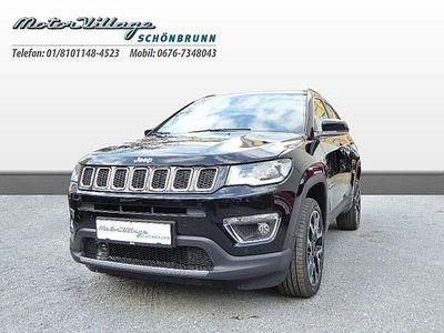 gebraucht Jeep Compass 1,4 MultiAir2 AWD Limited Aut. SUV / Geländewagen,