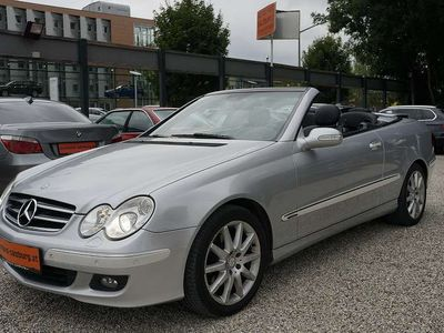 gebraucht Mercedes CLK200 CLK-KlasseKompressor Cabrio Avantgarde Aut Cabrio / Roadster,