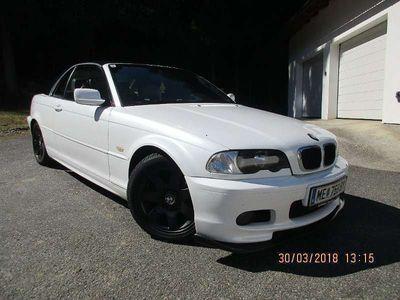 gebraucht BMW 318 Cabriolet 3er-Reihe E46 Ci Cabrio / Roadster