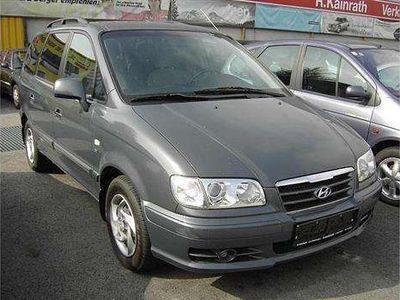 gebraucht Hyundai Trajet Diesel 7-Sitzer