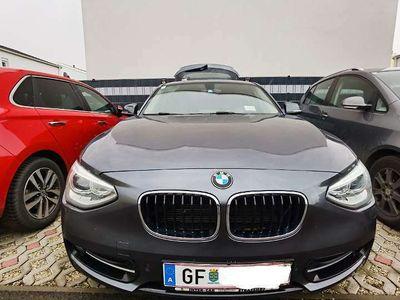 gebraucht BMW 118 1er-Reihe d Österreich-Paket Aut. Limousine