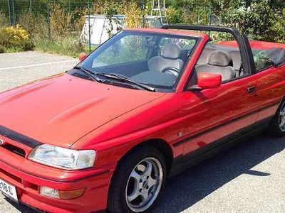 gebraucht Ford Escort Cabriolet Cabrio 1.8/93 ALL/Ausf. H ID/Z / Roadster,