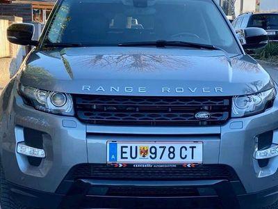 gebraucht Land Rover Range Rover evoque Dynamic 2,2 TD4 SUV / Geländewagen