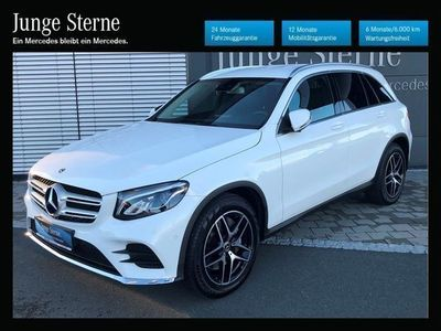 gebraucht Mercedes GLC220 d 4MATIC AMG Line, NAV, ILS,
