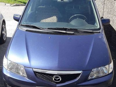 gebraucht Mazda Premacy 2.0 DiTD ACT. BLUE Kombi / Family Van
