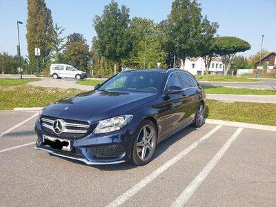 gebraucht Mercedes C200 D . AMG Line
