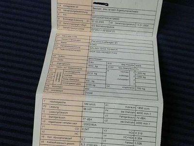 brugt Ford Galaxy Ghia 1.9 Kombi / Family Van,