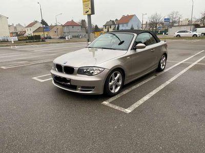 gebraucht BMW 120 Cabriolet 1er-Reihe d / Roadster