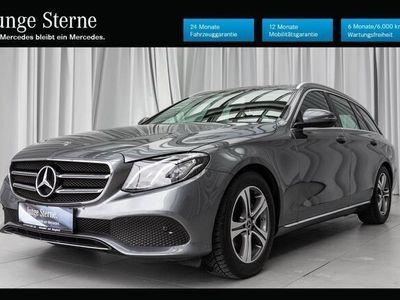 gebraucht Mercedes E220 T-Modell Avantgarde / LED / Totwinkel