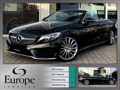 gebraucht Mercedes C220 C-Klassed Cabrio / AMG / Aircap / Airscarf / Lede... Cabrio / Roadster,