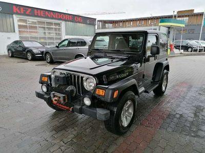 gebraucht Jeep Wrangler 4,0 Scout Hard Top SUV / Geländewagen