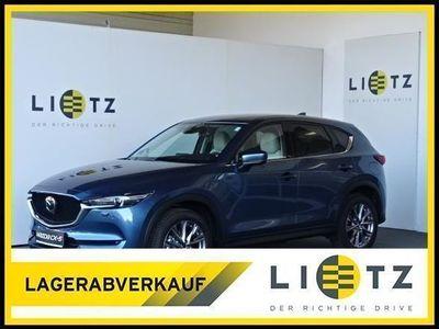 "gebraucht Mazda CX-5 CD184 AWD Revolution Top ""Leder weiss"""