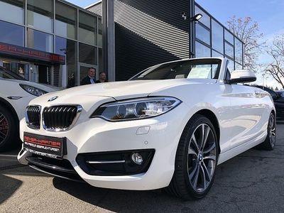 gebraucht BMW 220 d Cabrio Line