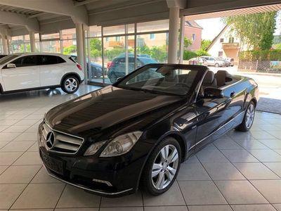 brugt Mercedes E200 E-KlasseCGI BlueEfficiency Aut. Cabrio / Roadster,