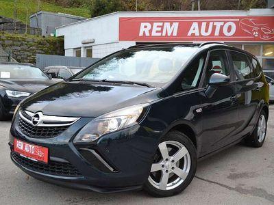 brugt Opel Zafira 2.0 CDTI 7-Sitzer, Sitzh; Navi; AHK; Top-Ausstattung!! Kombi / Family Van,
