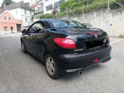 gebraucht Peugeot 206 CC 1,6 16V
