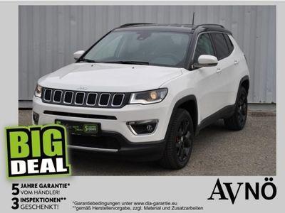 gebraucht Jeep Compass Limited 4WD Allrad Navi Teilleder Automati