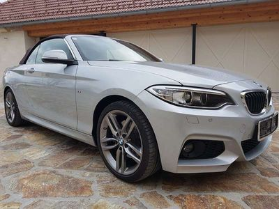 gebraucht BMW 220 2er-Reihe d M Automatic Cabrio / Roadster