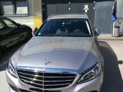 gebraucht Mercedes C200 d T Avantgarde Aut.LED,Navi
