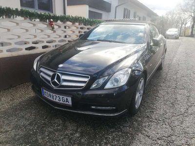 gebraucht Mercedes E220 E-KlasseCDI Avantgarde 7G Automatik Cabrio / Roadster